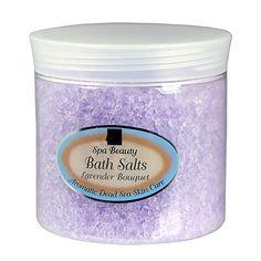 Aromatic Dead Sea Bath Salt Lavender Bouquet