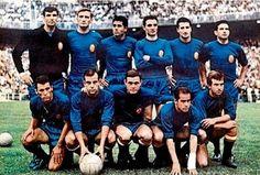 EQUIPOS DE FÚTBOL: SELECCIÓN DE ESPAÑA 1963-64