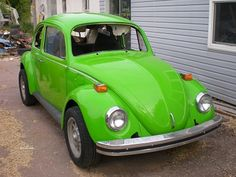 VW Bug converted to an electric vehicle... I want one! $8500