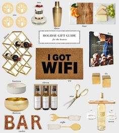 holiday gift guide // for the hostess | The Style Scribe | Bloglovin'
