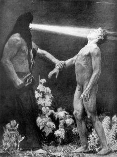 """Sasha Schneider: """"Hypnosis"""" (1904)"""