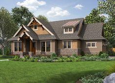 High-End Craftsman Getaway - 23570JD | 1st Floor Master Suite, CAD Available, Corner Lot, Cottage, Craftsman, Northwest, PDF | Architectural Designs