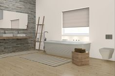 Main Photo Of Bathroom Window Treatment
