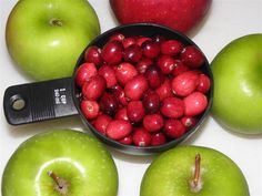 Crock Pot Sugar-Free Cranberry Applesauce Recipe