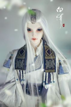 Baize Human Version, 73.5cm Limited Loong Soul Doll - BJD Dolls, Accessories - Alice's Collections