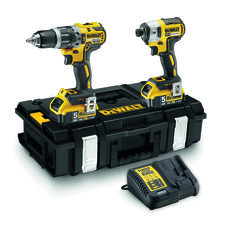 Dewalt 18V(5.0Ah) XR Lithium Ion Cordless Brushless 2pce Combo Kit # DCK266P2-XE
