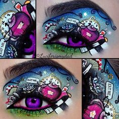 14 Incredible Disney Eye Makeup Looks That Will Blow You Away  - Seventeen.com