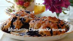 Lyndsay The Kitchen Witch: Blueberry Cheesecake Scones