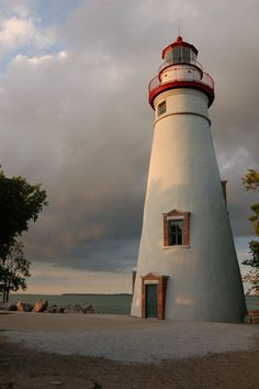 Marblehead LIghthouse, OH.  One of the most photographed landmarks of Lake Erie.