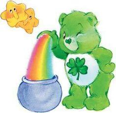 Cb Shower Pics, Shower Ideas, Baby Shower, Irish Symbols, Bear Character, Bear Drawing, Mini Canvas Art, Bear Wallpaper, Pot Of Gold