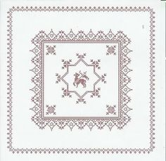 Weihkorbdecken Counting Pattern - Christmas Basket - Themes Source by Christmas Baskets, Easter Cross, Happy Easter, Quilling, Needlepoint, Needlework, Free Pattern, Cross Stitch, Embroidery