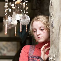 "Muggles think these keep evil away…but they're wrong."" - Luna #HarryPotter"