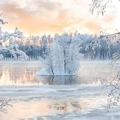 Finnish winter in Heinola. Photo by Jari Sokka