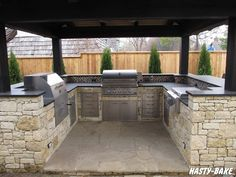outdoor barbeque islands | South Tulsa Outdoor BBQ Island |Hasty-Bake Outdoor Kitchens Tulsa