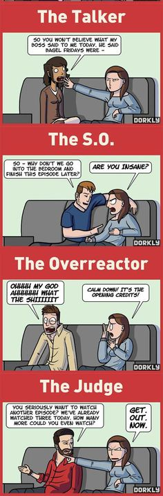 The Most Annoying People To Watch TV With // funny pictures - funny photos - funny images - funny pics - funny quotes - #lol #humor #funnypictures
