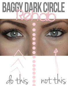How to get rid of those dark circles #eyes #howto #tips Get more eye tips at http://bellashoot.com!