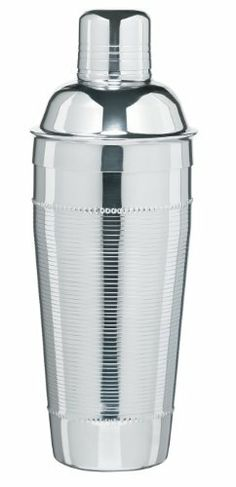 Trudeau Sonoma, Stainless Steel Cocktail Shaker by Trudeau. $14.87. 27-Ounce capacity; 5 year warranty. Cocktail shaker by Trudeau. Made of stainless steel. Elegant and practical; beautiful finish and lines; will withstand years of heavy use. Integrated strainer. Get ready for homemade cocktails like the pros make. A shaker is an essential bartending tool for professionals and hobbyist, alike. Whether you're making a martini or a sex-on-the-beach, you'll need a shaker. B...
