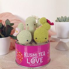 cactus - tutorial #amigurumi #crochet