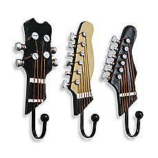 Guitar Hooks (Set of 3)