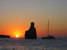 camara  by clickonsailing, via Flickr Ibiza, Celestial, Sunset, Outdoor, Sunsets, Calla Lilies, Scenery, Outdoors, Outdoor Living