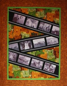 awesome memory quilt with photos