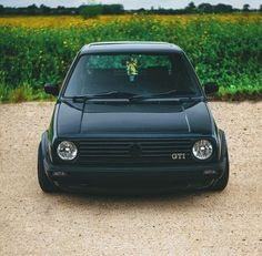 VW Mk2 Golf Dark side country living