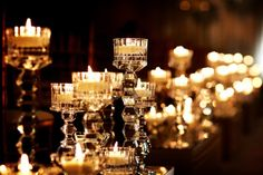 100 Candles on Perfect Wedding Guide