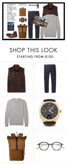 """""""Desert Solitare"""" by maninaustin ❤ liked on Polyvore featuring Tod's, Hardy Amies, Panerai, Filson, Thom Browne, men's fashion and menswear"""
