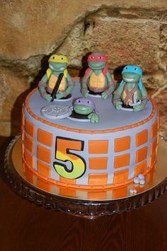 Ninja Turtle Birthday Cake | Teenage Mutant Ninja Turtles cake | kids birthday party ideas