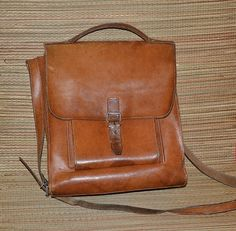 Vintage leather bag Handmade Made in the early by MySunnyStore, $65.00