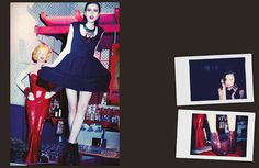 """ALEXIS MAGAZINE #7""  Styling : Sarah Zuloeta  Photo: Riccardo Bernardi  Mua : Isabella Sabbioni"