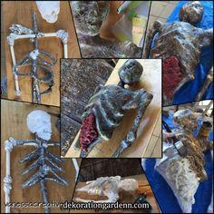 Décoration De Maison Fantastique Porte-rouleau Mural En Tissu Squelette