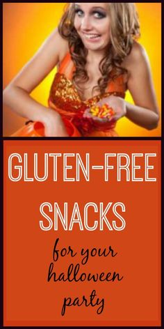 7 gluten-free snacks for your Halloween party!
