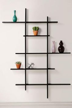 Bought one of these to display some trophies. Unique design. Well made. Easy to assemble and hang. Perfect!