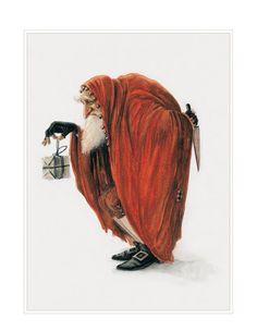 Large Fine Art Print  CHRISTMAS Bogeyman by StudioJBMongeGoblin