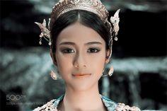 Head kinnaree Thai by sutiponmm