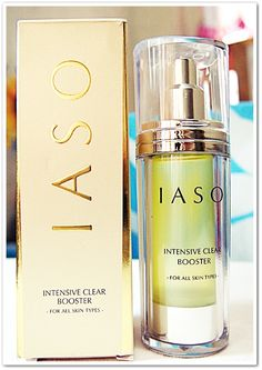 Journey on Beauty : Review on IASO Intensive Clear Booster