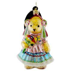 Radko Muffy Feliz Cumpleanos 1015218 Ornament Muffy Mexican Bear New | eBay