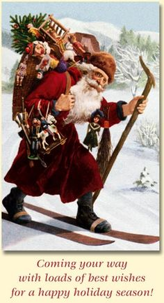 Vintage Santa Claus - Santa Claus - Vintages Cards - Christmas Wallpapers, Free ClipArt for Xmas, Icon's, Web Element, Victorian Christmas Photos and Vintage Santa Claus pictures Christmas Fonts, Christmas Hearts, Christmas Graphics, Old World Christmas, Christmas Printables, Christmas Pictures, Father Christmas, Christmas Holidays, Victorian Christmas Decorations