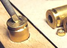 Make a tool for removing primer from a rifle shell
