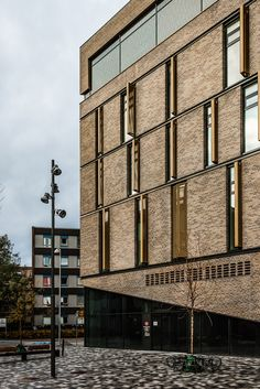 The Frederiksberg Courthall Building by 3XN (Mike Dugenio Hansen) via Behance