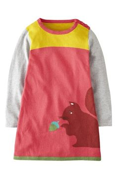 Mini Boden 'Woodland' Knit Dress (Little Girls & Big Girls) available at #Nordstrom