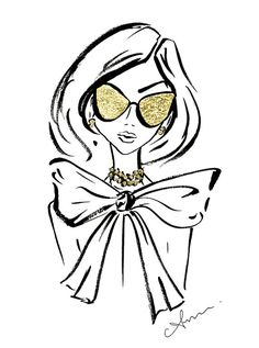 Fashion Illustration Mirrored Sunglasses with Gold Leaf 8 215 10 8243 Fashion Illustration Mirrored Sunglasses with Gold Leaf 8 215 10 8243 Olcay yurdanurolcay Fashion Illustration anum tariq Be inspirational Mz Manerz Being well dressed nbsp hellip Fashion Illustration Sketches, Illustrations, Fashion Sketches, Art Sketches, Art Drawings, Fashion Drawings, Girl With Sunglasses, Sunglasses Women, Leaf Art