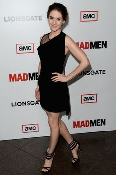 Alison Brie in Givenchy at the Season 6 'Mad Men' premiere in Los Angeles.