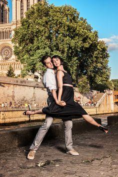 EXCLUSIVE: Dancing Through Paris With An American in Paris Stars Robert Fairchild and Leanne Cope - Photo Flash - Jul 7, 2014