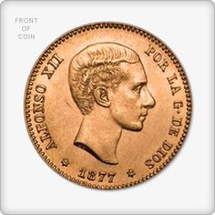 Spanish 25 Peseta Gold Coin