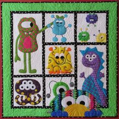 We have designed a new store for our patterns. We have added more children's quiltpatterns, patterns for wall quilts and patterns for larger quilts. There is also a section of finished items…