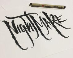 """""""Nightmare"""" by OldGraphicsDieHard"""