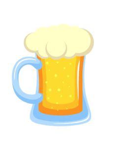 Beer Mug Photo Booth Prop