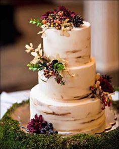 Autumn Wedding Cake Designs